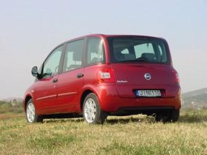Teszt: Fiat Multipla 1.6 SX - Quasimodo megszépült!