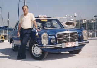Mercedes Taxi 4,6 millió kilométerrel