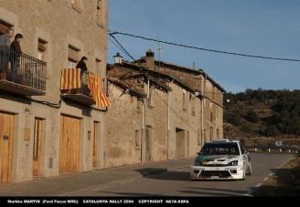 Martin átvette a vezetést a Katalán Ralin - 2. nap