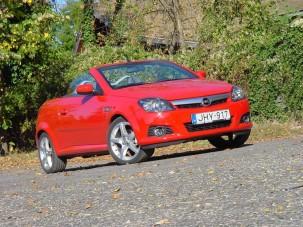 Teszt: Opel Tigra TwinTop 1.8 - Négy évszakra