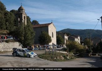 Megleptés Korzikán - Fordok az élen az első napon