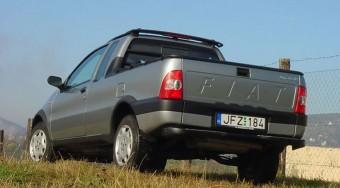 Teszt: Fiat Strada 1.9 JTD - Brazil siker