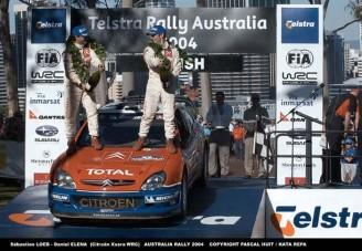 Sebastien Loeb nyert Ausztráliában is