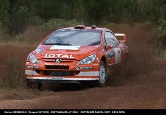 Marcus Grönholm vezet az Ausztrál Rali 1. napján