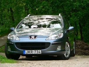 Teszt: Peugeot 407 SW 3.0 - Bűvészpalánta