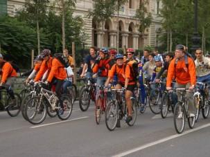 Budapest a kerékpárosoké