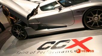 Koenigsegg CCX - 395 km/h+