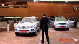Európai és világújdonságok a Mercedes-nél