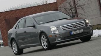 Teszt: Cadillac STS 4.6 V8