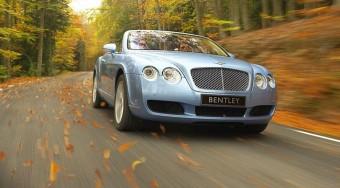 Kabrió Bentley a világ legnagyobb fékeivel!