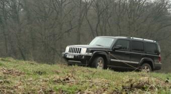 Vezettük: Jeep Commander
