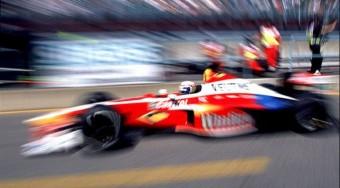 Zanardi megint F1-es autóban