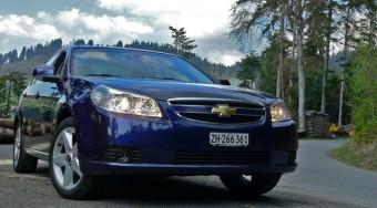 Vezettük: Chevrolet Epica