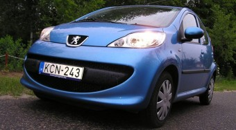 Teszt: Peugeot 107