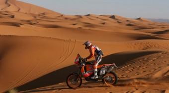 Új motor a Dakarra
