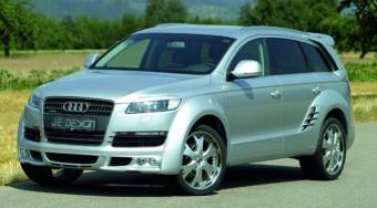 Audi Q7 szélesített kasztnival