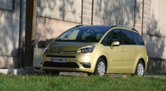 Vezettük: Citroën C4 Picasso