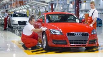Veszélyben a győri Audi gyár