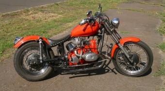 Harley-chopper orosz alapból