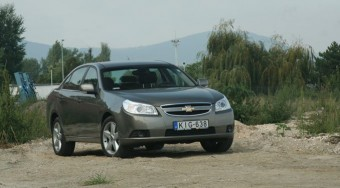 Teszt: Chevrolet Epica 2.0 LT