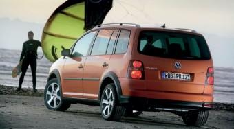 Álterepjáró VW módra