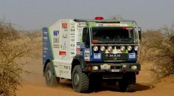 Dráma a Dakaron - videó