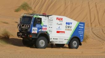 Szalay ütközött a Dakaron