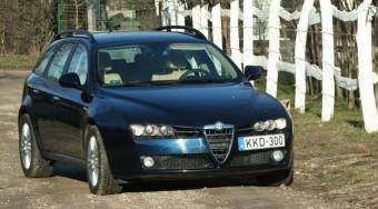 Teszt: Alfa 159 SW 2.4 JTDm