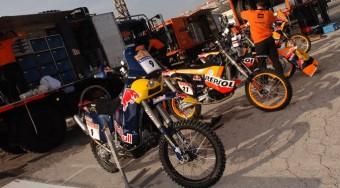 Motor nélkül a Dakaron