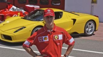 Schumacher tesztelt a Ferrarinak!
