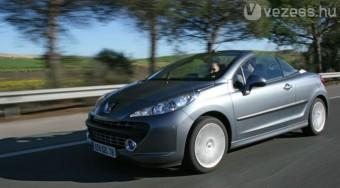 Vezettük: Peugeot 207 CC