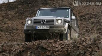 Teszt: Mercedes-Benz G 320 CDI