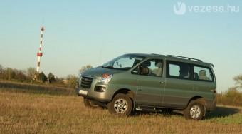 Teszt: Hyundai H-1 Starex 4X4