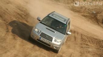 Teszt: Subaru Forester 2.5 XT