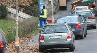 Harc a parkolótársaság ellen?