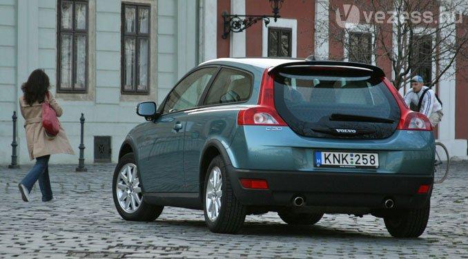 Drága, szűk, de nagyon tetszik a Volvo C30