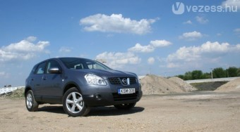 Teszt: Nissan Qashqai 1,6i
