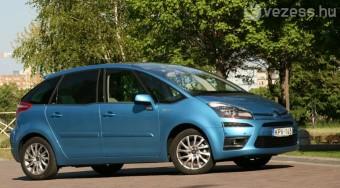 Teszt: Citroën C4 Picasso