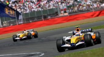 Silverstone: Heikki Kovalainen rovata