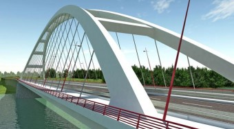 Új híd a Dunán