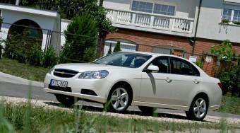 Teszt: Chevrolet Epica dízel