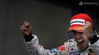 Alonso nálunk is győzne