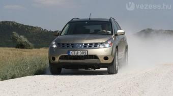 Teszt: Nissan Murano 3,5 V6