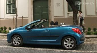 Teszt: Peugeot 207 CC 1,6