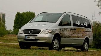 Teszt: Mercedes Vito 4X4