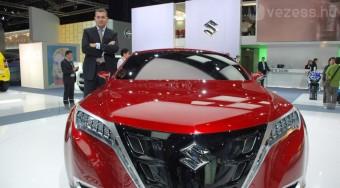 Kóka Jánosnak tetszik az új Suzuki