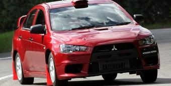 Versenyautó a Mitsubishitől