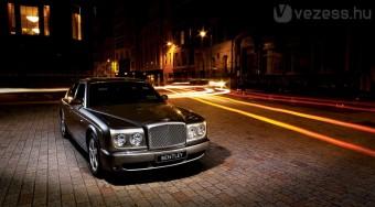 Környezetbarát Bentley születik