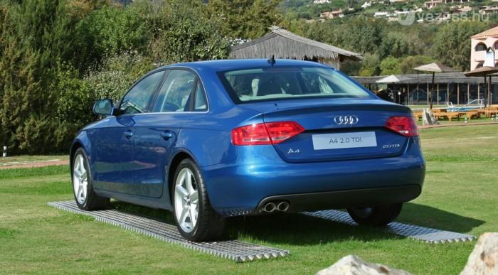 Tíz Audiból négy A4
