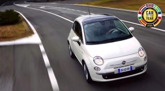 Hivatalos: a Fiat 500 az Év Autója